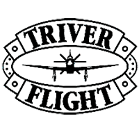 TRIVER FLIGHT logo